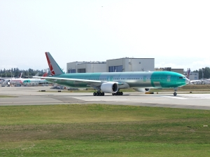 17AUG Paine Field TK B777 RTO lineup