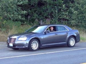 17AUG Sven im Auto