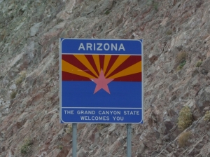 21AUG ARIZONA State Sign