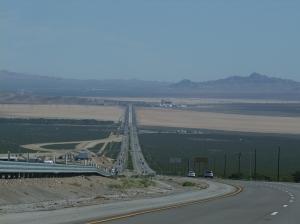 21AUG I-15 Mojave desert
