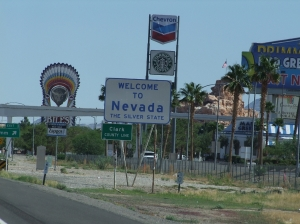 21AUG Nevada Stae Sign