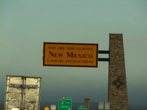 22AUG Leaving New Mexico