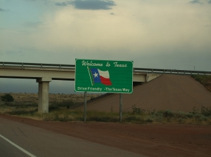 22AUG Texas State Sign