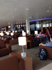 Amsterdam KLM Lounge