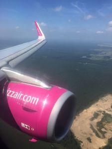 Prior to landing