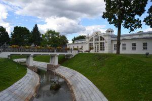 The main sanitarium