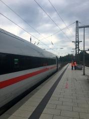 Hamburg Ankunft Bahnhof 1