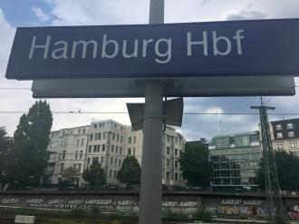 Hamburg Ankunft Bahnhof 2