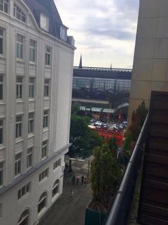 Hamburg Ankunft Hotel 3