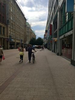 Hamburg Center Einkaufsstrasse