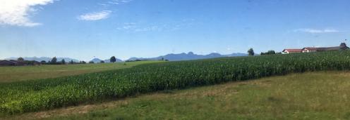 Muenchen Railjet nach Salzburg 2