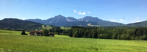 Muenchen Railjet nach Salzburg 6