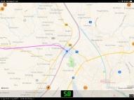 Muenchen Railjet nach Salzburg Grenze