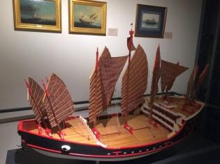 Museum Modellschiff 1