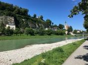 Salzburg Am Fluss Salzach 2