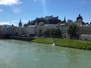 Salzburg Am Fluss Salzach 3