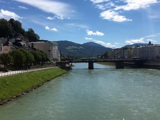 Salzburg Am Fluss Salzach 4