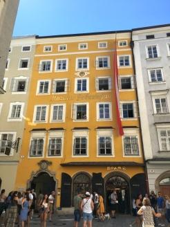 Salzburg Innenstadt 2 Mozarthaus