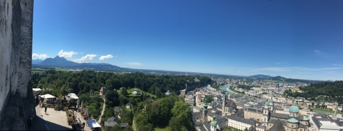 Salzburg Schloss Panorama 3