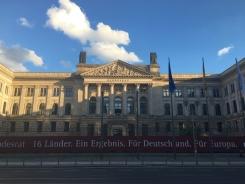Spaziergang Zentrum der Demokratie
