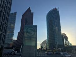 Spaziergang Zentrum Potsdamer Platz