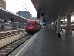 Abfahrt Wien 2