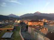 Am Morgen über Innsbruck 1