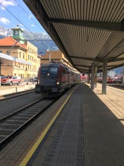 Bahnhof Innsbruck 3 Einfahrt Railjet