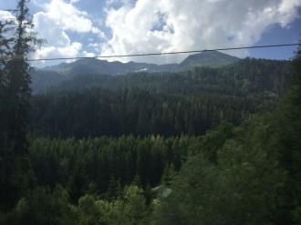 Fahrt Arlberg 1