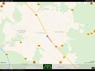 Fahrt nach Paris LGV Dijon - Paris GdL 1