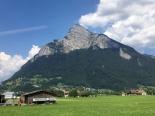 Fahrt nach Zürich 5b bei Sargans