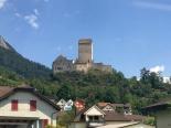 Fahrt nach Zürich 5c bei Sargans
