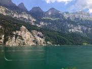 Fahrt nach Zürich 6b Walensee