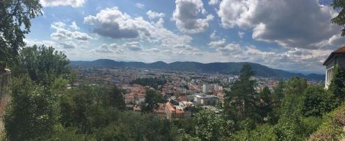 Graz Schloss Panorama 1